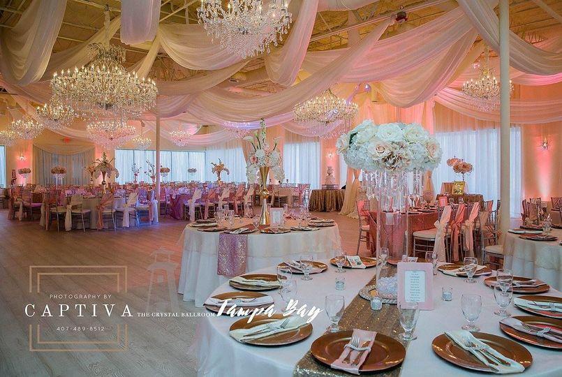 Crystal Ballroom Tampa Venue Tampa Fl Weddingwire