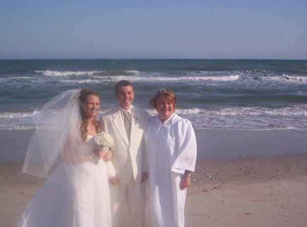 Beautiful Wrightsville Beach wedding.