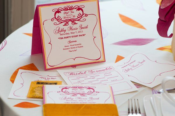 """High Tea for the Bride to Be"" by Amelia Irene Design. Image of the Amelia Irene Design Letterpress..."