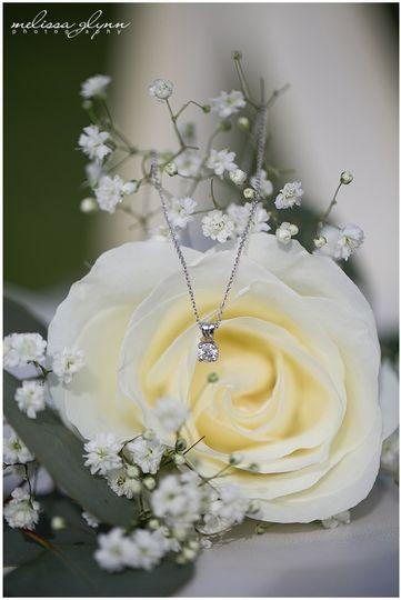 Lone white flower