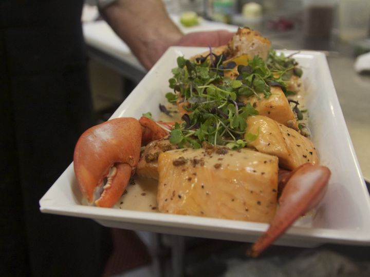 Tmx Salmon With Lobster Claws 51 134464 Portland, OR wedding catering