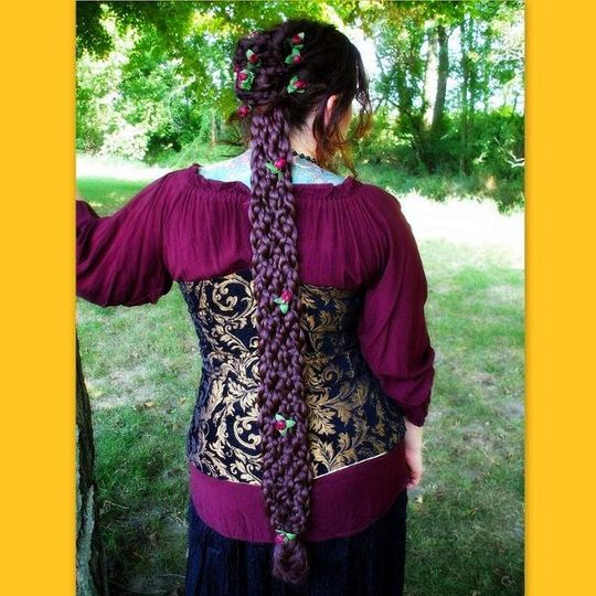 Arwen Braid inspired by the Lord of the rings.  This is perfect to wear to a renaissance or medieval...