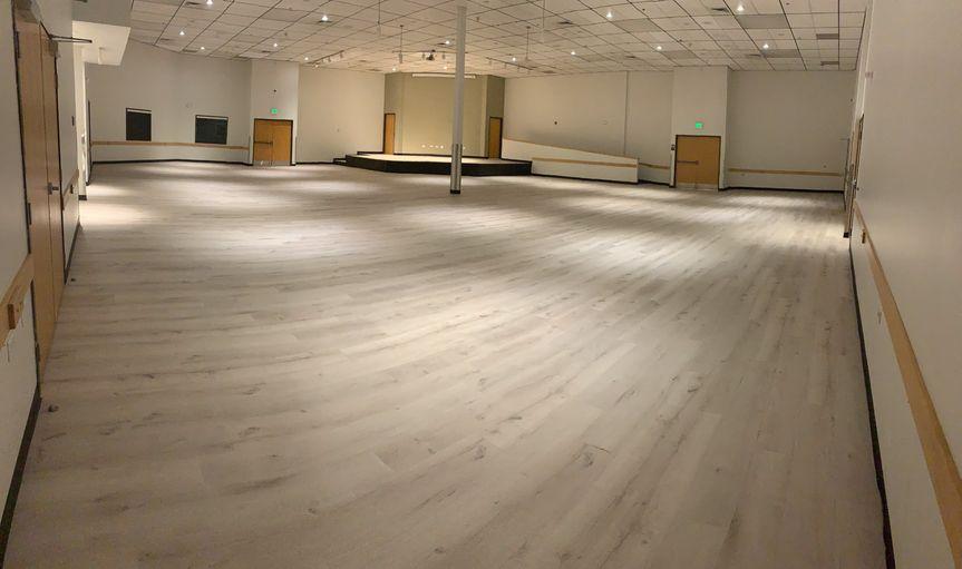 New Floor at the MAC!
