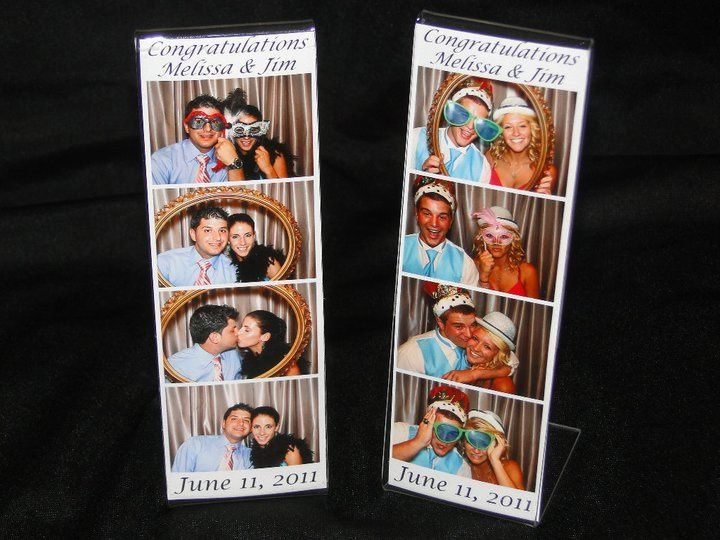 Looking for a unique favor? Check out these personalized magnetic photo strip frames. We can put a...