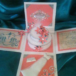 Tmx 1415233861182 Exploding Box Baton Rouge wedding invitation