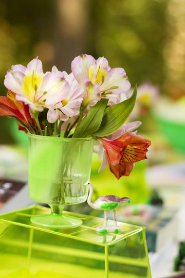 fresh flower decoration
