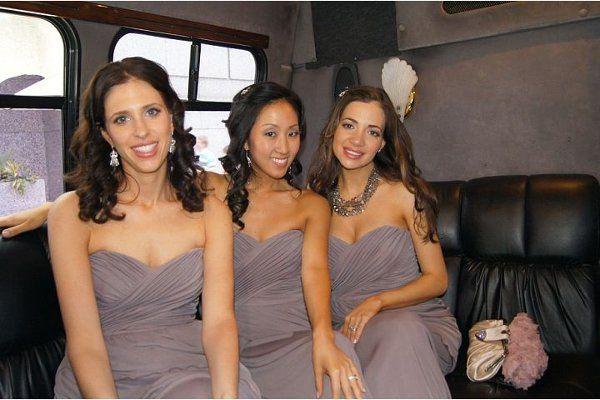My bridesmaids were sprayed the night before my wedding!