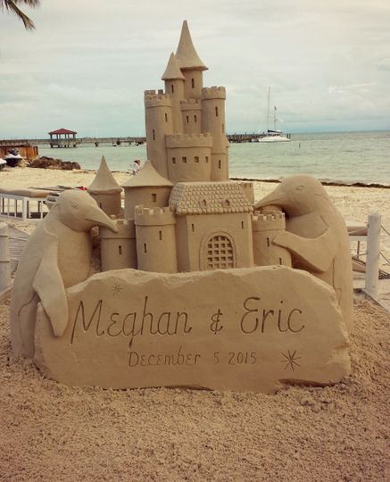 Sand and castle