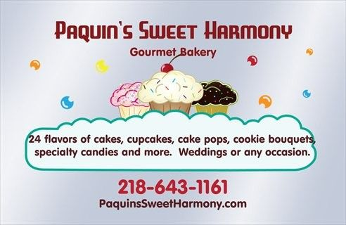 paquins sweet harmony banner