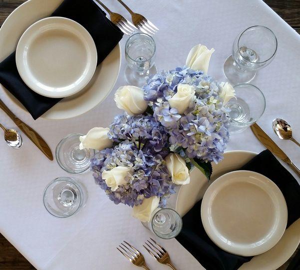 Mulligan's Reception Dinner Place Setting