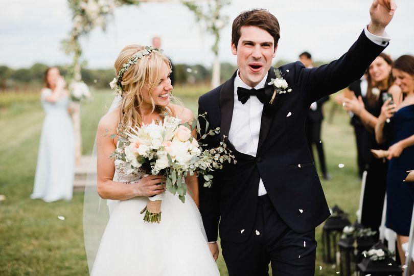 Brambles and Bittersweet Wedding Flowers