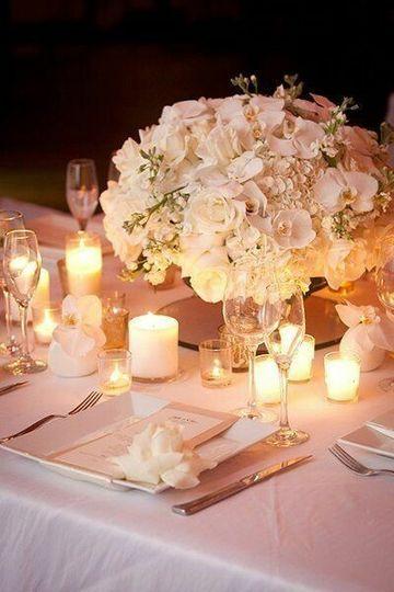 Beautiful Table Centerpiece!