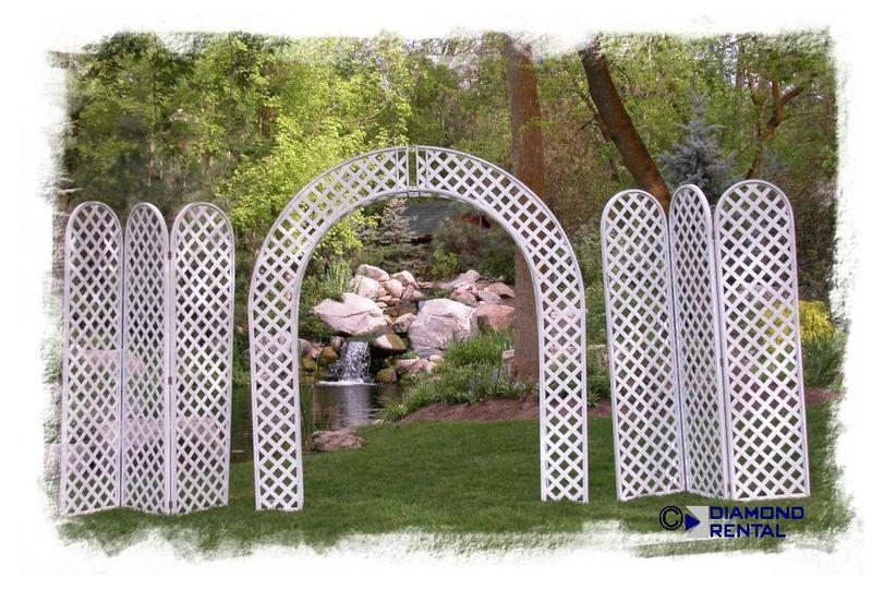 lattice arch std with pannels