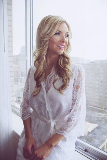 This gorgeous all lace wrap robe drapes beautifully to enhance the natural curves of your body. It...