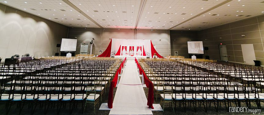 Large ceremony space