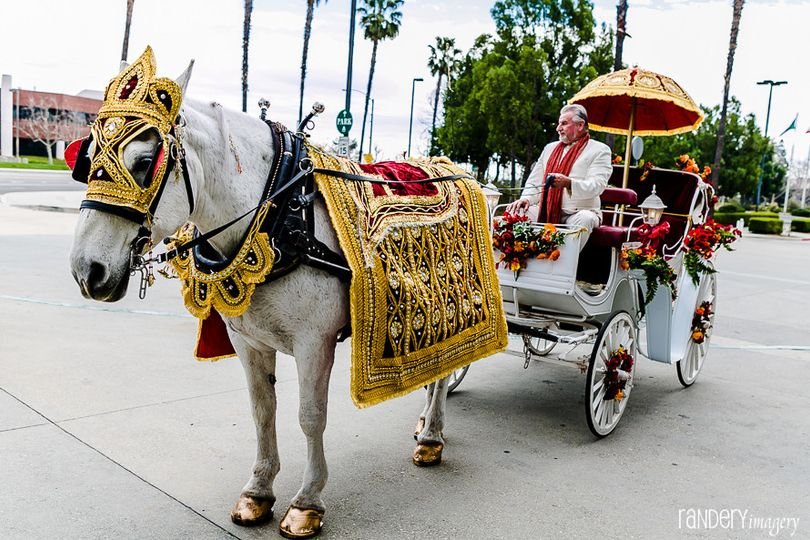 A traditional carriage