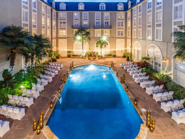 Tmx 1474660744491 Pool Courtyard Wedding 3 New Orleans, LA wedding venue