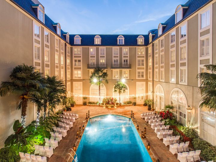 Tmx 1474660772619 Pool Courtyard Wedding 5 New Orleans, LA wedding venue