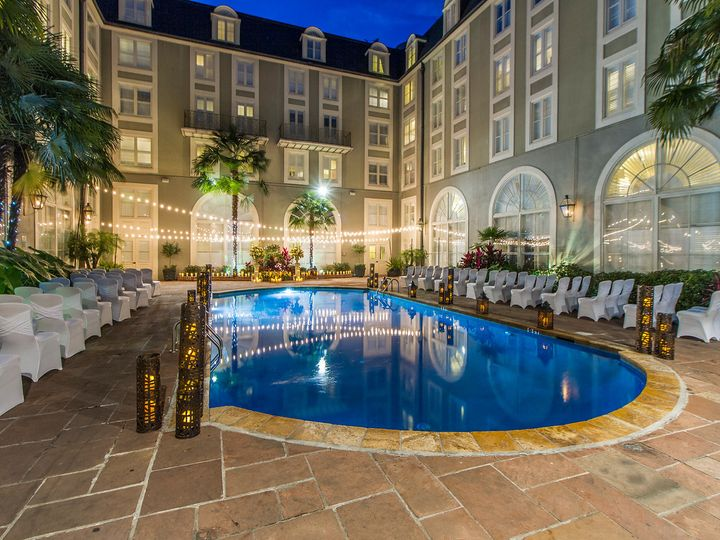 Tmx 1474660788301 Pool Courtyard Wedding 9 New Orleans, LA wedding venue
