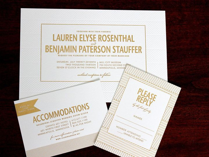 Tmx 1390946166798 Staufferwedding Minneapolis wedding invitation
