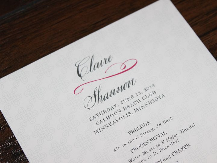 Tmx 1390947103928 Mcgoldrickprogram Minneapolis wedding invitation