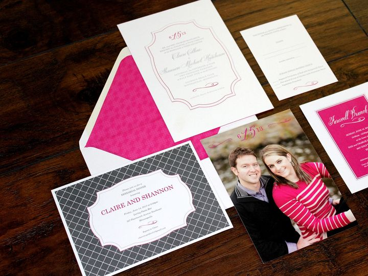 Tmx 1390947228692 Mcgoldricksuite Minneapolis wedding invitation
