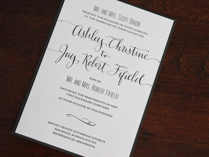 Tmx 1391191515895 Ashelybaron Minneapolis wedding invitation
