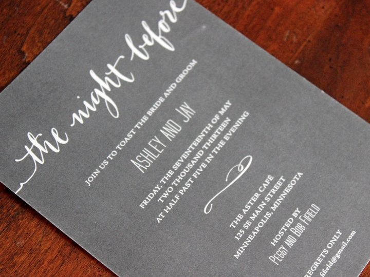 Tmx 1391191569995 Ashleybaron Minneapolis wedding invitation