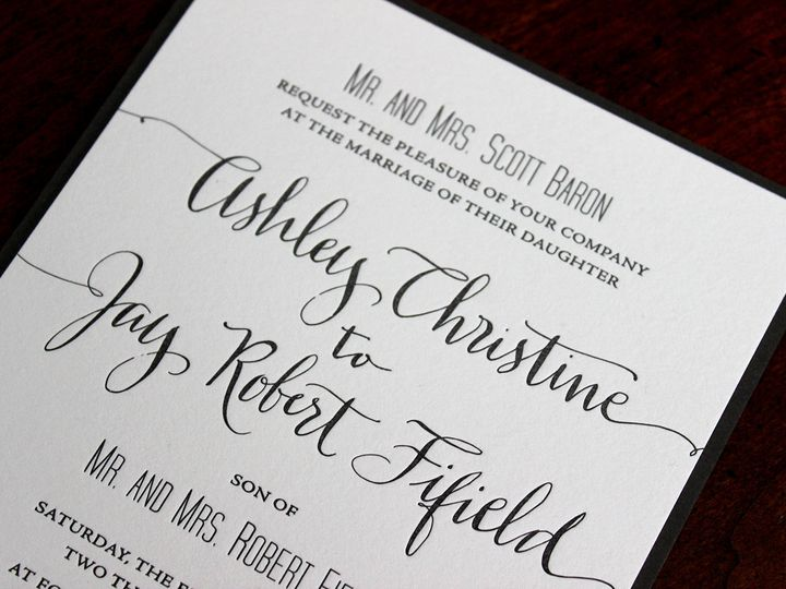 Tmx 1391191626316 Ashleybaron Minneapolis wedding invitation