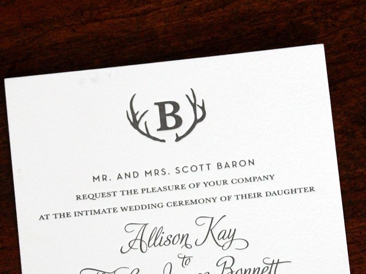 Tmx 1391192333431 Allisonbaron Minneapolis wedding invitation