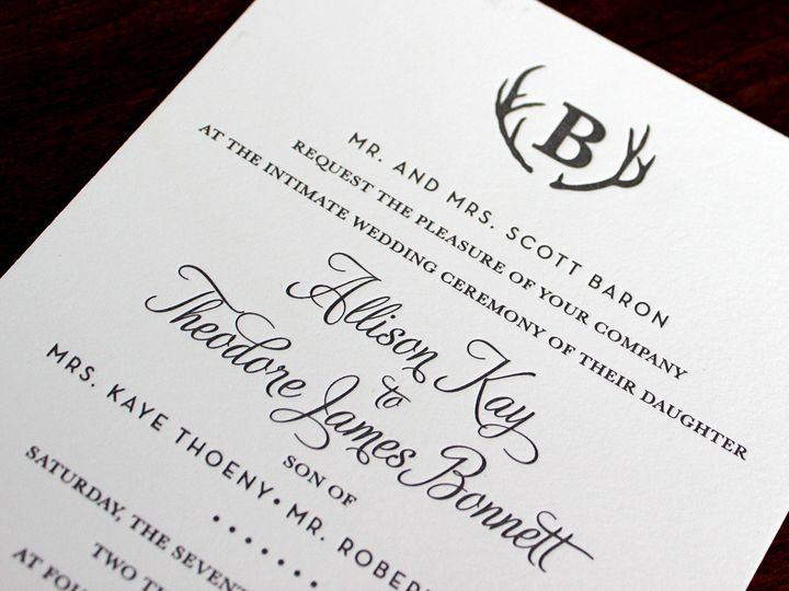 Tmx 1391192376991 Allisonbaron Minneapolis wedding invitation
