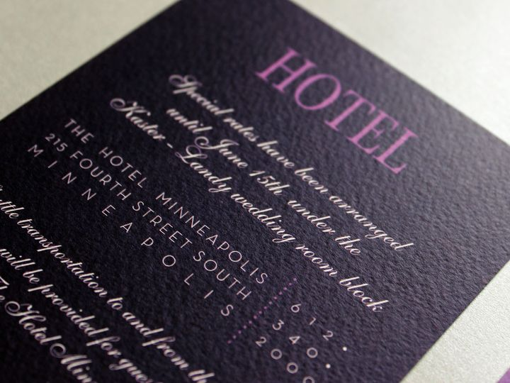 Tmx 1391195759800 Kaster Hote Minneapolis wedding invitation