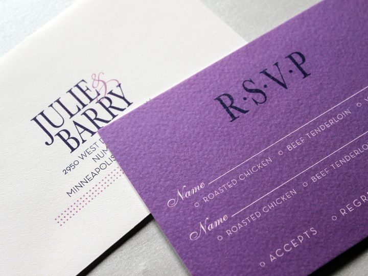 Tmx 1391195801947 Kaster Repl Minneapolis wedding invitation
