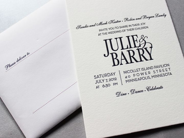 Tmx 1391195848272 Kaster Minneapolis wedding invitation