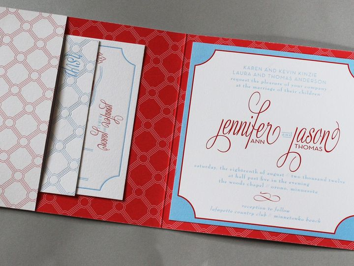 Tmx 1391196534698 Kinize Minneapolis wedding invitation