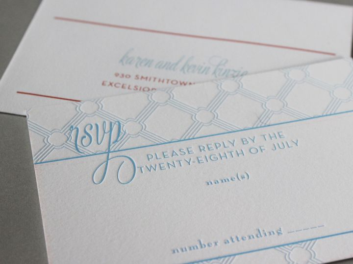 Tmx 1391196685313 Kinzie Minneapolis wedding invitation
