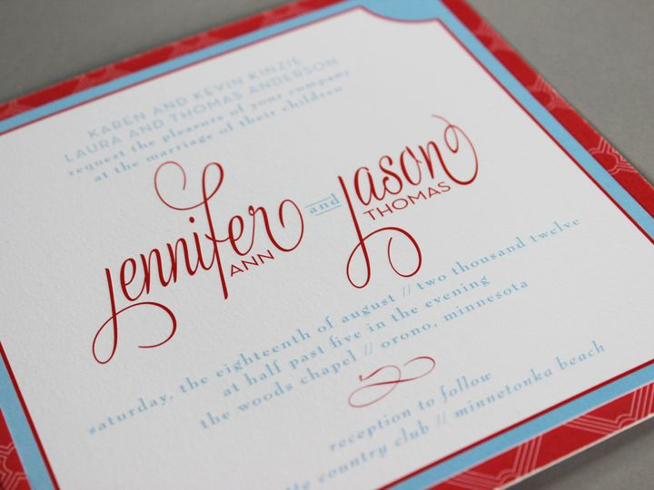 Tmx 1391196730905 Kinzie Minneapolis wedding invitation