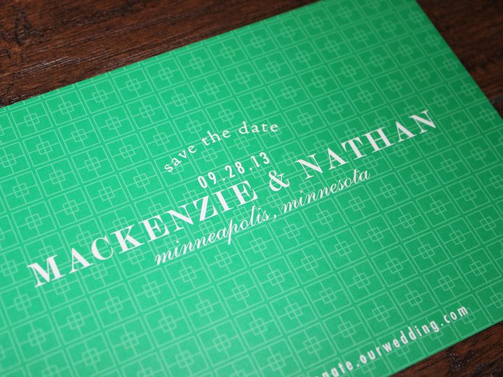 Tmx 1391199007519 Flettcher Minneapolis wedding invitation