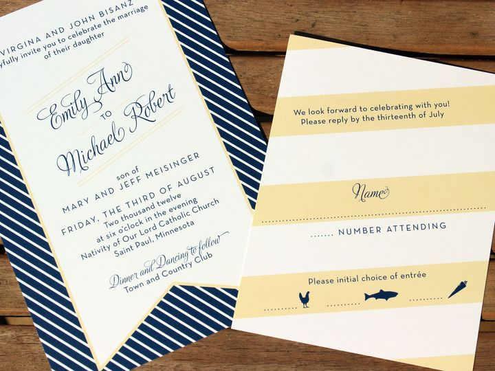 Tmx 1391201143204 Bisanzinvit Minneapolis wedding invitation