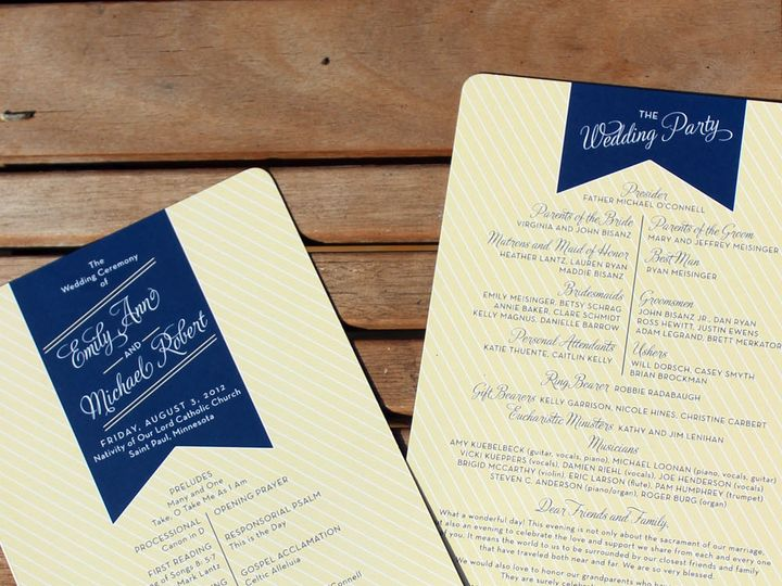 Tmx 1391201184707 Bisanz Progra Minneapolis wedding invitation