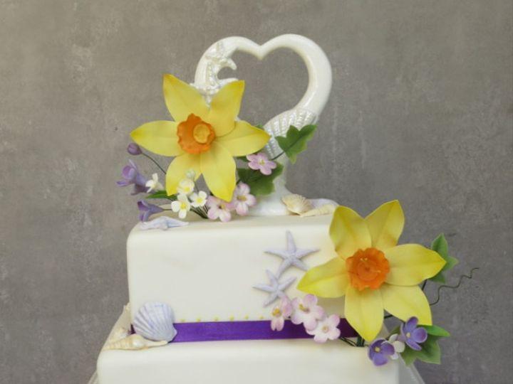 Tmx 1382469273985 Darlenecake Mendocino wedding cake