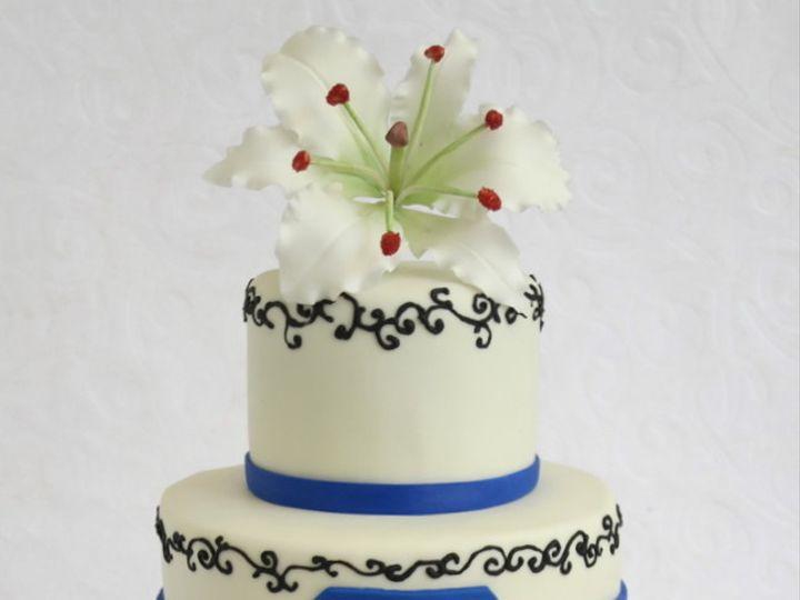 Tmx 1382469361660 Sapphirebluecake Copy Mendocino wedding cake