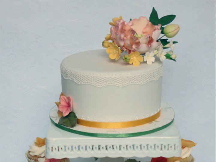 Tmx 1382469426594 Fallweddingake Mendocino wedding cake
