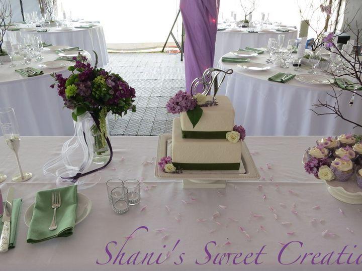 Tmx 1382469602572 Jennykwedding Mendocino wedding cake
