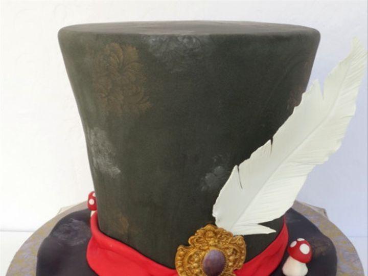 Tmx 1382469689925 Hat3 Mendocino wedding cake