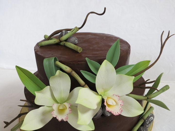 Tmx 1382469700526 Bamboo Cake Mendocino wedding cake