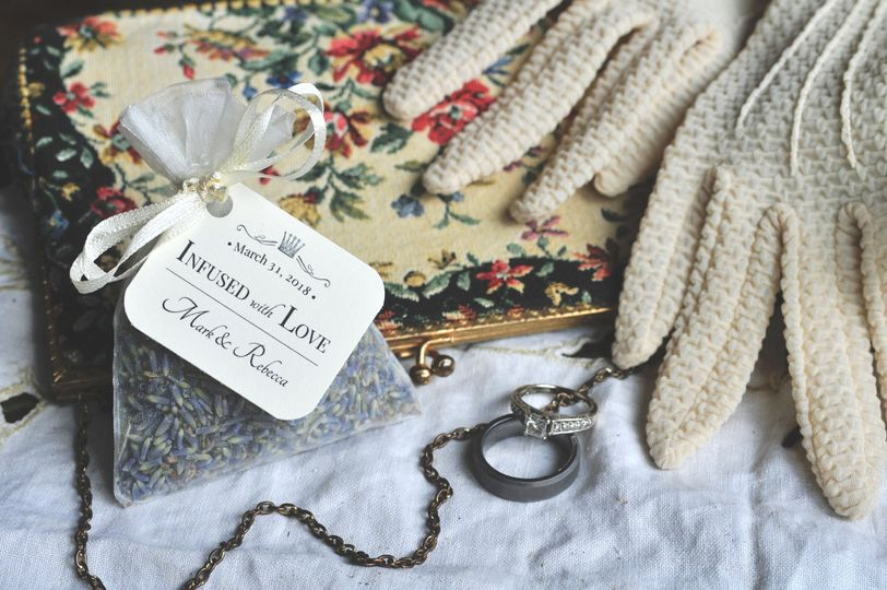 LAVENDER SACHET FAVORS | Organza  - Organic Lavender Sachet favors, perfect gifts for guests!