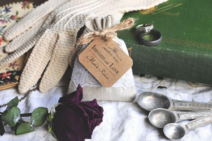 LAVENDER SACHET FAVORS | Linen & Lace  - Organic Lavender Sachet favors, perfect gifts for guests!
