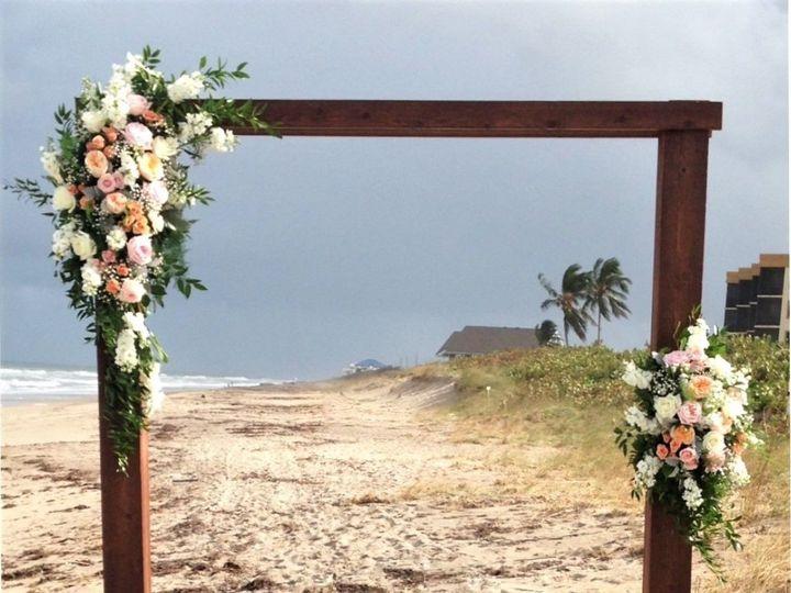 Tmx 1533566152 9ac4d54488f449c1 1533566151 A42cccc83eac22ea 1533566145619 4 Rustic Wood Arbor  Stuart, FL wedding florist