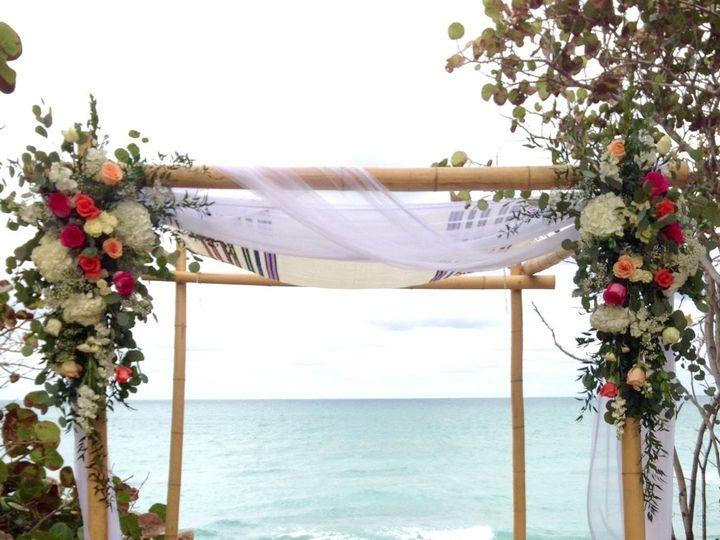 Tmx 1533566179 165cc7818c7a6b1b 1533566177 C9e2a92f17675bde 1533566174593 5 Bamboo Chuppah She Stuart, FL wedding florist